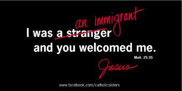 welcoming immigrants